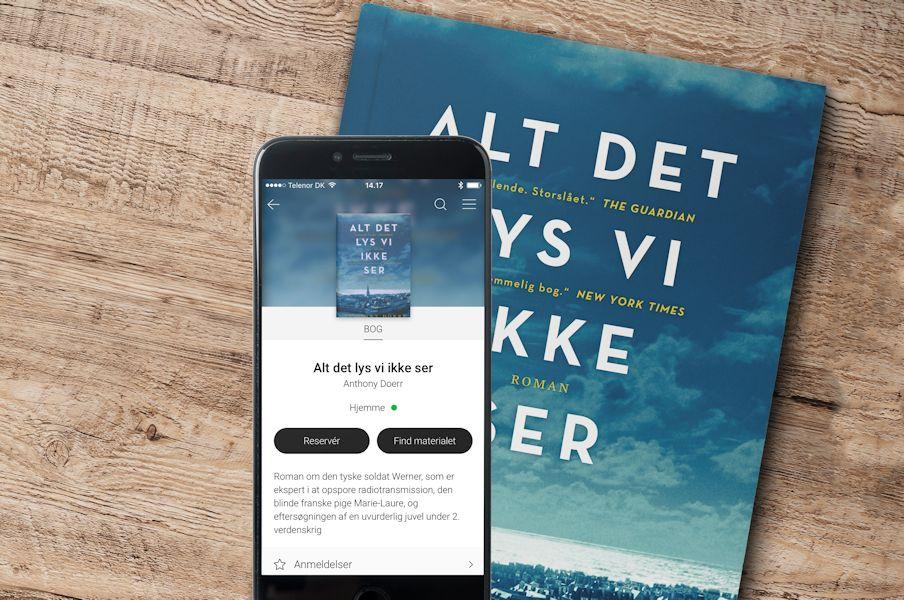 Biblioteket App - hele dit bibliotek samlet i een app