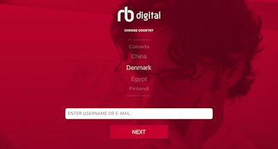 RB Digital app login 01