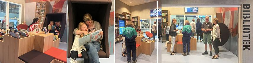Velkommen til Arena Bibliotek