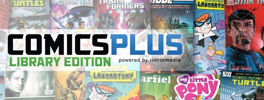 Logo Comics Plus