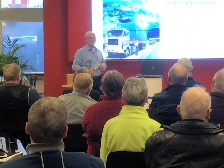 Poul Erik Hadberg fra Løjt  fortæller om truckerlivet